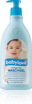 Mycí gel dětský čistící Babylove