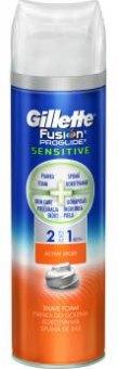 Gel na holení pánský Sensitive 2v1 Proglide Fusion Gillette