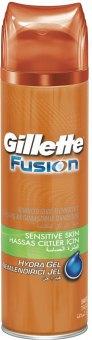 Gel na holení pánský Sensitive Fusion Gillette