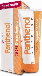 Gel na sluncem podrážděnou pokožku Panthenol 10% Premium Swiss