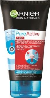 Gel pleťový čistící Pure Active 3v1 Garnier