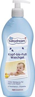 Sprchový gel Od hlavy k patě Babydream