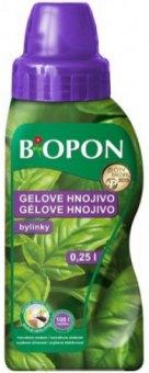 Gelové hnojivo na bylinky Bopon