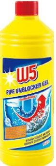 Čistič potrubí gelový W5