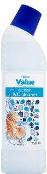 Gelový čistič WC Tesco Value