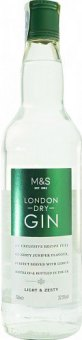 Gin London Dry Marks & Spencer