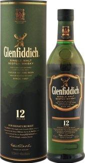 Whisky 12 YO Glenfiddich