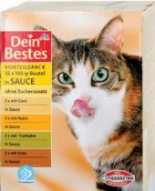 Granule pro kočky Dein Bestes