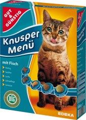 Granule pro kočky Gut&Günstig  Edeka