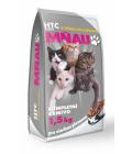 Granule pro kočky Mňau HTC Servis