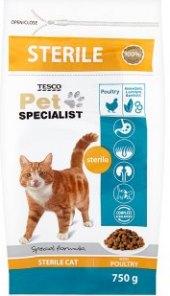 Granule pro kočky Pet Specialist Tesco