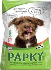Granule pro psy Papky