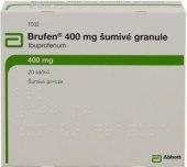 Granule šumivé proti bolesti 400 Brufen