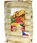 Grilovací bílá klobása bratwurst Příbramská uzenina