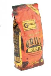 Brikety grilovací Grilex