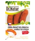 Grilovací klobása kuřecí se sýrem Dr. Natur
