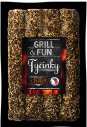 Grilovací tyčinky s pepřem Grill&Fun