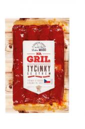 Grilovací tyčinky se sýrem Na gril Penny