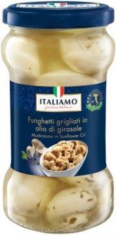 Grilované marinované žampiony Italiamo