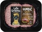 Hamburger s goudou Láďa Grileman Kostelecké uzeniny