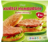 Hamburger mražený Tesco