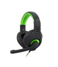 Herní sluchátka přes hlavu C-TECH Nemesis V2