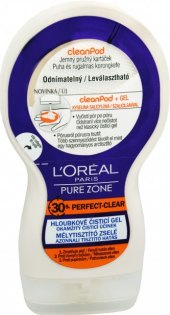 Gel pleťový hloubkově čistící Pure Zone L'oreal