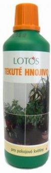 Hnojivo tekuté pro pokojové rostliny Lotos