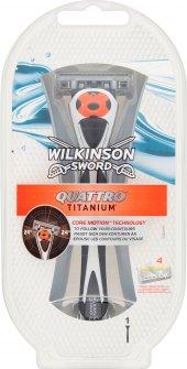 Holicí strojek pánský Quattro Titanium Wilkinson