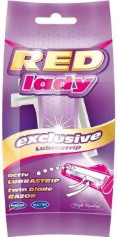 Holítka jednorázová dámská Exclusive Red Mattes