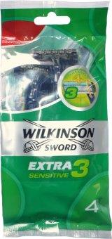 Holítka jednorázová pánská Activ Extra 3 Wilkinson