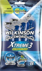 Holítka jednorázová pánská Ultimate Plus Xtreme 3 Wilkinson