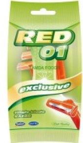 Holítka jednorázová pánská Red 01 Mattes