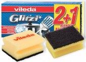 Houbička na nádobí tvarovaná Glitzi Vileda