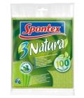 Utěrka houbová Natura Spontex