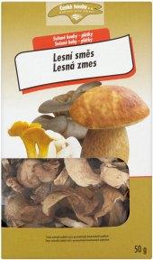 Houby sušené Lesní směs České houby