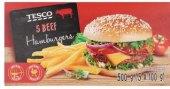Hovězí hamburger mražený Tesco