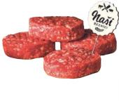Hovězí hamburger Naši Řezníci K-Purland