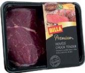 Hovězí plec kulatá - falešná svíčková - chuck tender steak Premium Billa