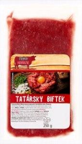 Hovězí tatarák Tesco