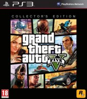 Hra PS3 Grand Theft Auto V.