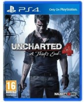 Hra PS4 Uncharted 4: A Thief's End