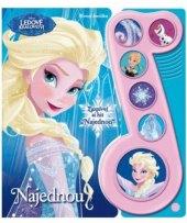 Hrací kniha Najednou Ledové království Walt Disney