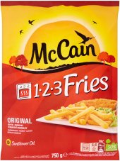 Hranolky mražené 1.2.3. Fries McCain