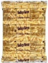 Hranolky vlnky mražené Valley Farm