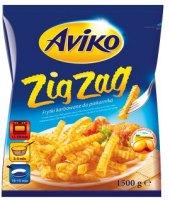 Hranolky vlnky mražené Zig Zag Aviko