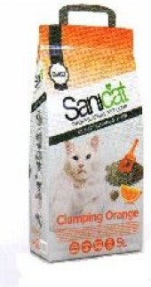 Stelivo pro kočky hrudkující Sanicat