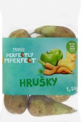 Hrušky Perfectly Imperfect Tesco