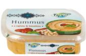 Hummus s rajčaty a bazalkou Toppo