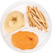 Hummus s tyčinkami